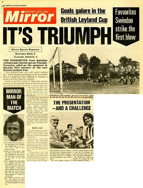 Leyland Cup Leyland Mirror issue 3 1973 page 24