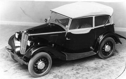 Morris Eight Tourer 1937