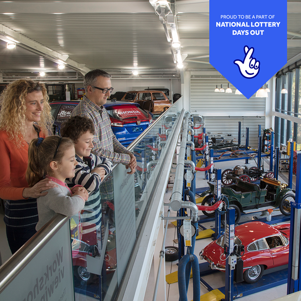 Museum joins 'National Lottery Days Out' campaign to offer discounted entry!