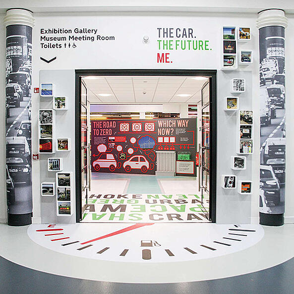 """The Car. The Future. Me"" exhibition goes on tour!"
