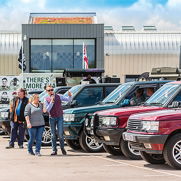 Land Rover show to celebrate Range Rover's 50th + 1 anniversary!