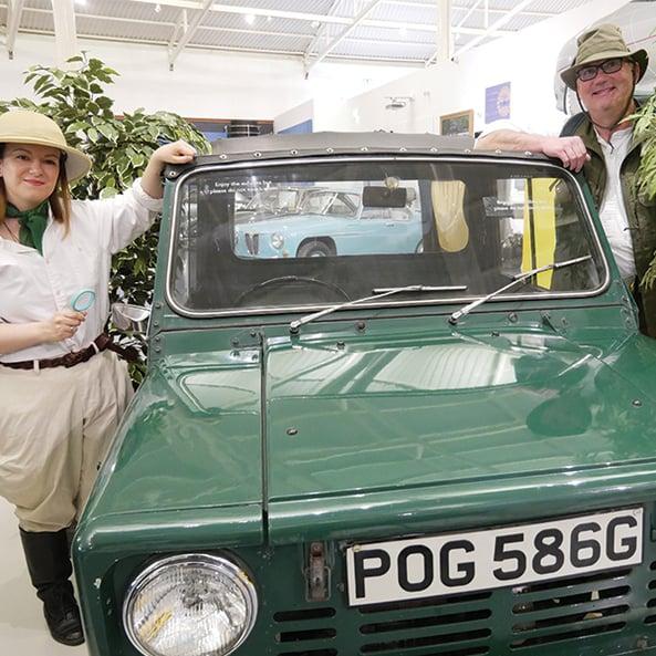 Explore 'nature' at the British Motor Museum this summer!