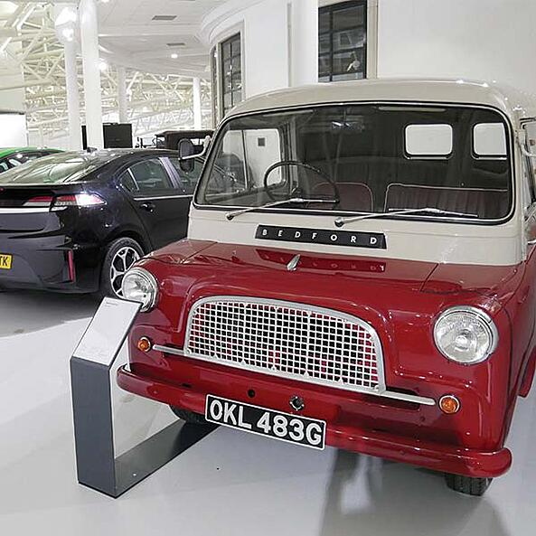 Vauxhall Heritage Collection now on display