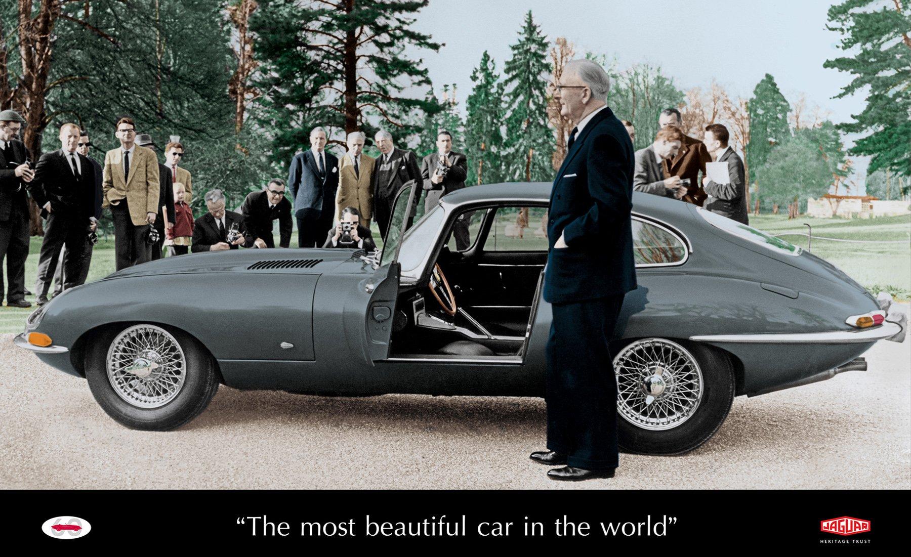 Jaguar E-Type Lead Image History Talk