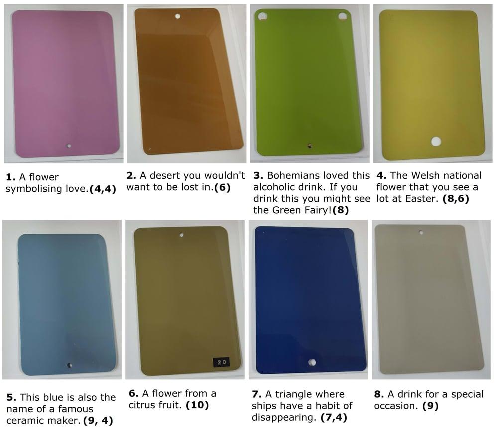 Colour-clues