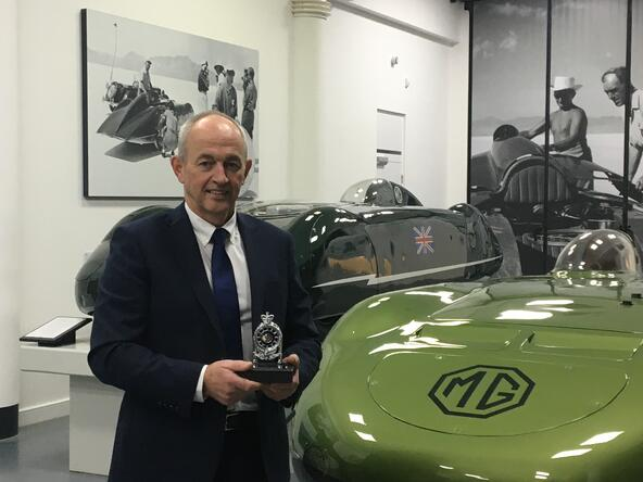 Museum wins Royal Automobile Club Historic Award