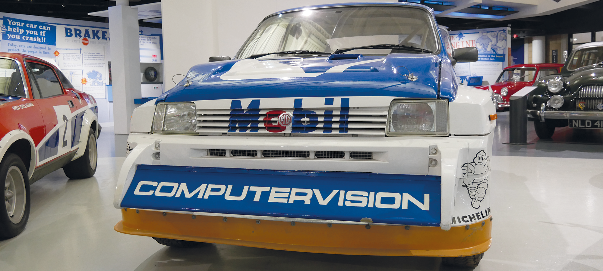 Historic Rally Car Register Open Day 2020 Website Header
