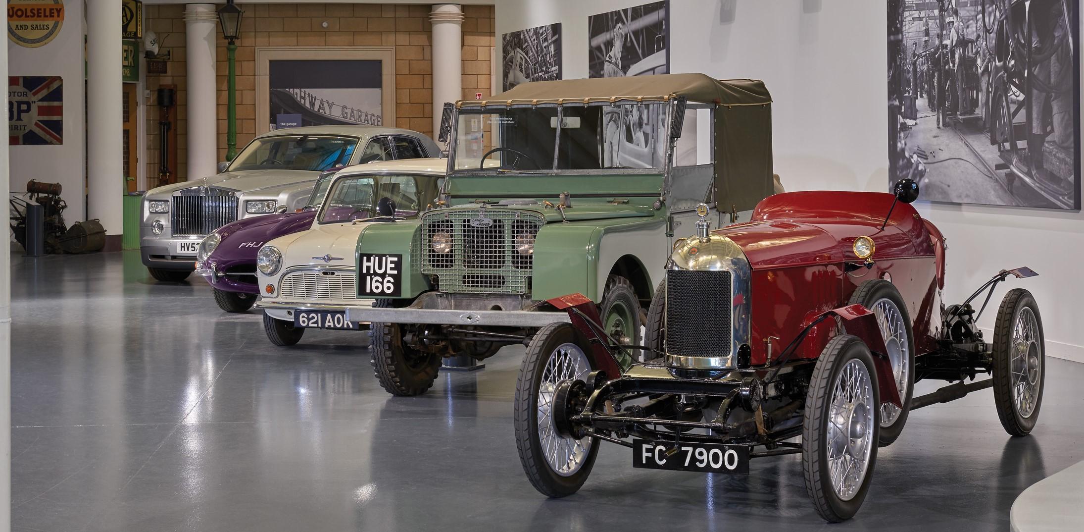British Motor Museum - Welcome Gallery