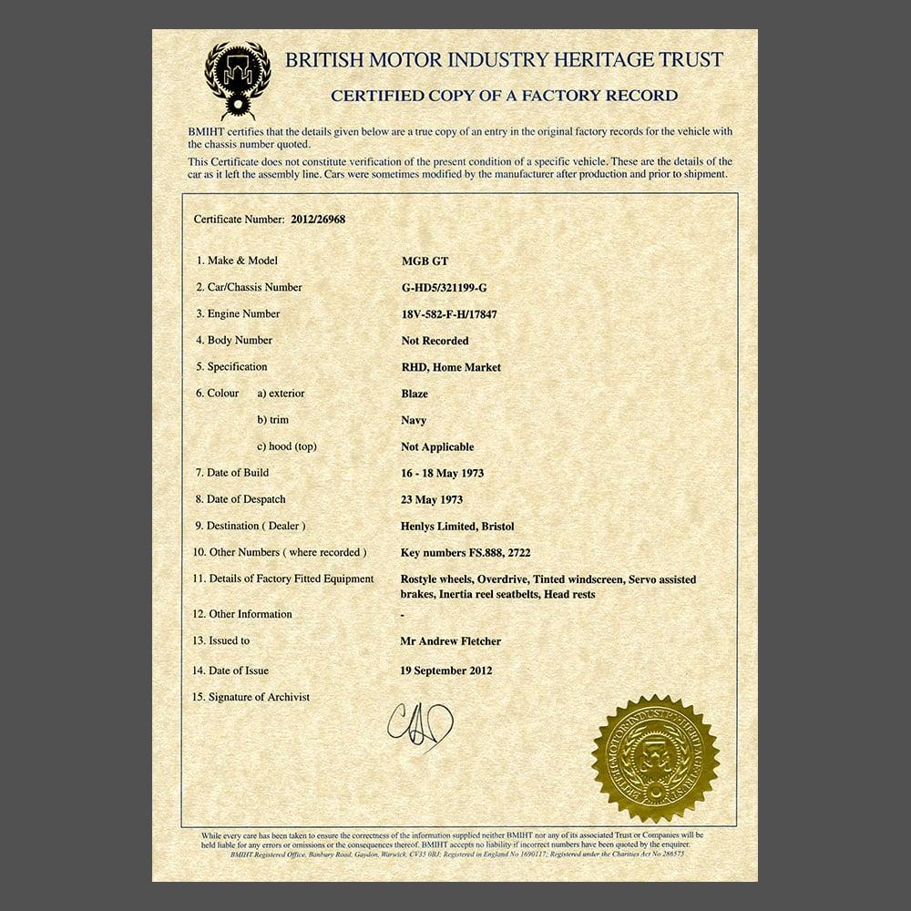 Heritage-Certificate